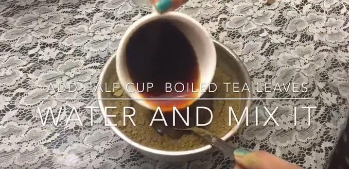奈良県でヘナ効果と紅茶