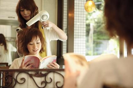 奈良県/子供と出勤できる美容室のパート