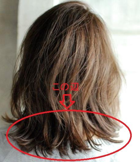 髪が跳ねる時の原因