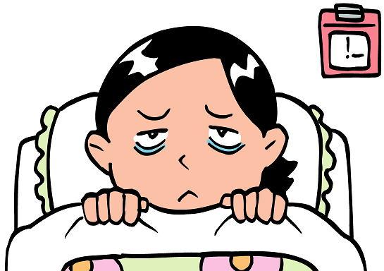 髪がボサボサになる原因は不眠症