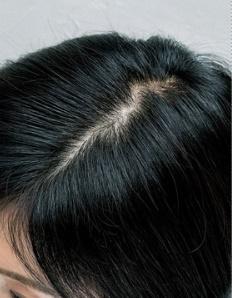市販の白髪染めをした後の「髪色」が知りたい
