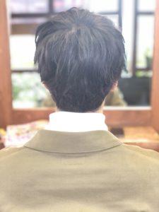 【メンズ 暗めパープル 】ロコスアッソ美容室