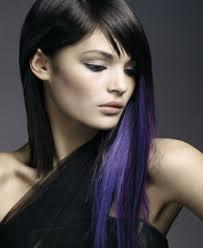 【アラサー女子 】紫のインナーカラーは中に効く。バレない?