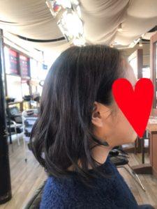19歳【黒いグレージュカラー】バイト先。普通の黒髪はイヤ