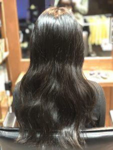 ブリーチ1回。長持ちする髪色にしたい