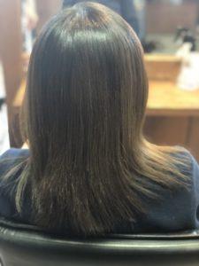 20代【暗いアッシュ】黄ばみオレンジの髪。解決方法とは?