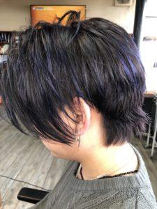 【メンズカラー】紫メッシュが人気が止まらない理由がわかった
