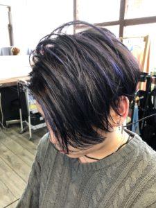 20代【メンズカラー】紫メッシュ。なぜ人気が止まらない?