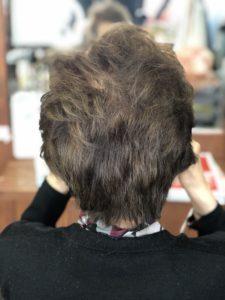 80代【白髪染め】いつも長持ちする。ミルクティーベージュ