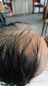 60代【ヘアマニキュア】白髪染め。ぺたんこな髪を助けて。
