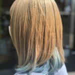 10代【ブリーチ色落ち】1か月後の髪色。めっちゃキレイ
