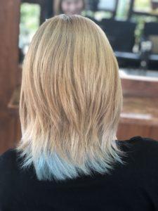 こんなブリーチ髪に色を入れたい