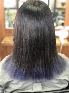 【トリートメントカラー】どんな髪色になるかわかった