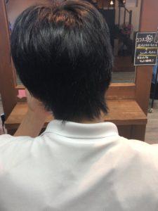 3か月伸ばし放題の髪