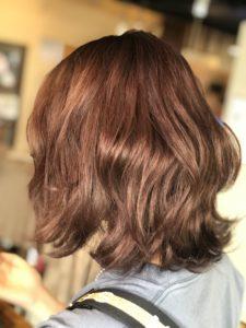 私がオレンジブラウンの髪色を選んだ理由
