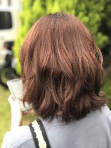 19歳【髪色 オレンジブラウン】似合う人はこんな人です。