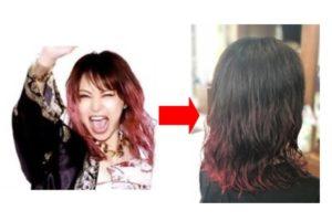 20代【赤髪デジタルパーマ】LiSAの髪型をマネしたい
