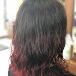 """<span class=""""title"""">20代【赤髪デジタルパーマ】LiSAの髪型をマネしたい</span>"""